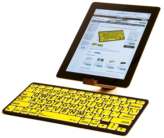 Large Print Bluetooth Keyboard by LogicKeyboard