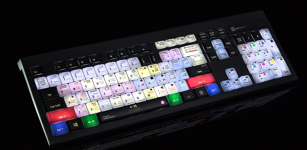 DaVinci - Astra Backlit PC Slim Line Keyboard