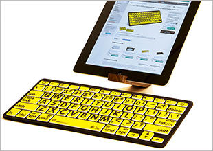 Logickeyboard Largeprint Apple keyboard Cover
